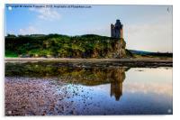 Greenan Castle, Acrylic Print