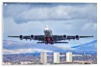 Emirates Take Off, Acrylic Print