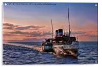 The Waverley, Acrylic Print