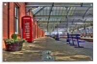 Kilmarnock Train Station, Acrylic Print