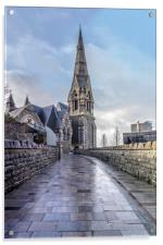 Trinity Church Irvine, Acrylic Print