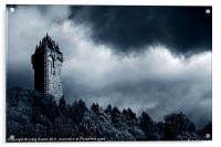 Wallace Monument, Scotland, Acrylic Print