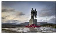 Commando Memorial, Spean Bridge, Acrylic Print