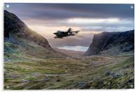 Low flying Tornado jet, Acrylic Print