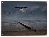 Enemy coast ahead, skipper, Acrylic Print