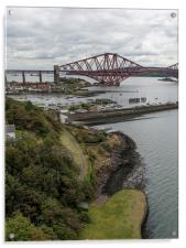 Forth Rail Bridge from North Queensferry, Acrylic Print