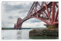 Forth Rail Bridge north east view, Acrylic Print