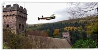 Canadian Lancaster VR-A at the Derwent Dam, Acrylic Print