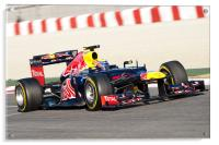 Mark Webber - Spain 2012, Acrylic Print