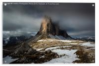 Tre Cime, Dolomites Landscape , Acrylic Print