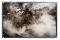 44871 Steam Locomotive, Acrylic Print