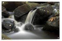 Padley Gorge, The Peak District, Acrylic Print