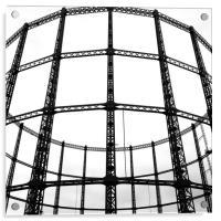 Disused London Gasometer, Acrylic Print