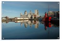Liverpool Luminations, Acrylic Print