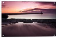 seaside reflection., Acrylic Print