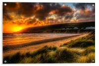 Saunton Sands North Devon, Acrylic Print