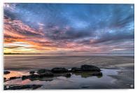Saunton Sands sunrise, Acrylic Print