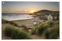 Croyde Bay North Devon., Acrylic Print