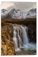 Fairy Pools Waterfall, Isle of Skye, Acrylic Print