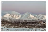 An Teallach at Dawn, Acrylic Print