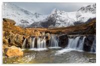 The Fairy Pools, Isle of Skye, Acrylic Print