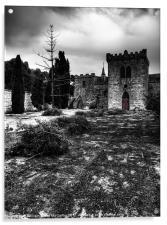 Castel Qannotta, Acrylic Print