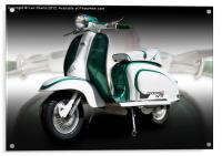 Mod scooter, Acrylic Print