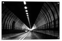 Dartford Crossing Tunnel, Acrylic Print