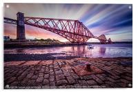 Forth Rail Bridge colour, Acrylic Print