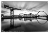 Scotland Finnieston Crane Glasgow, Acrylic Print