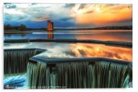 Strathclyde Park Loch, Acrylic Print