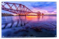 Forth Rail Bridge, Acrylic Print