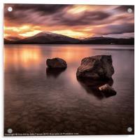 Loch Lomond Argyll, Acrylic Print