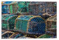 Lobster & Crab pots, Acrylic Print