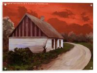 Storm Cottage, Acrylic Print