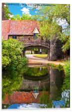 Pulls Ferry Norwich, Acrylic Print