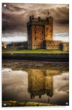 Broughty Castle, Acrylic Print