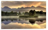 Slovakian Dawn, Acrylic Print