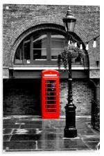 British Red phonebox, Acrylic Print
