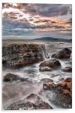 Rocks of the Nothe, Acrylic Print