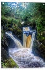Triple Pecca Falls, Acrylic Print