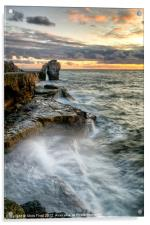 Sunset at the Pulpit (2), Acrylic Print