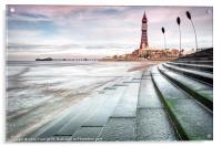 Blackpool Tower Curves, Acrylic Print