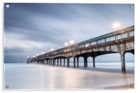 Dawn at Boscombe Pier, Acrylic Print