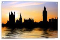 Westminster Skyline, Acrylic Print