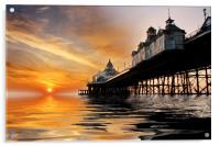Eastbourne Pier Sunrise, Acrylic Print