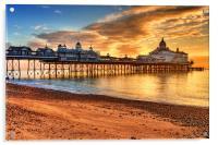 Eastbourne Pier, Acrylic Print