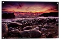 Sunset at Dollar, Acrylic Print
