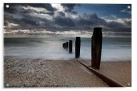 Sea View over the Solent, Acrylic Print