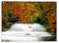 Wroclaw Park, Acrylic Print